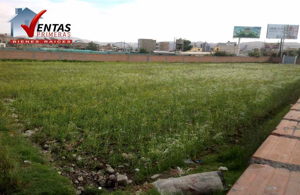 Terreno en Arequipa en plena avenida ideal Comercio