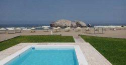 Casa de playa frente al mar