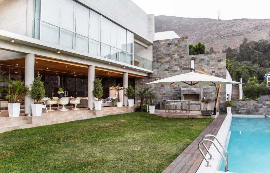 Vista Panorámica de casa moderna
